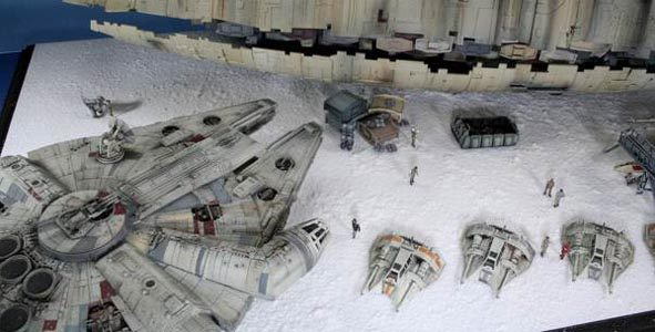John Simmons - Star Wars Models and Dioramas | Movie Kits